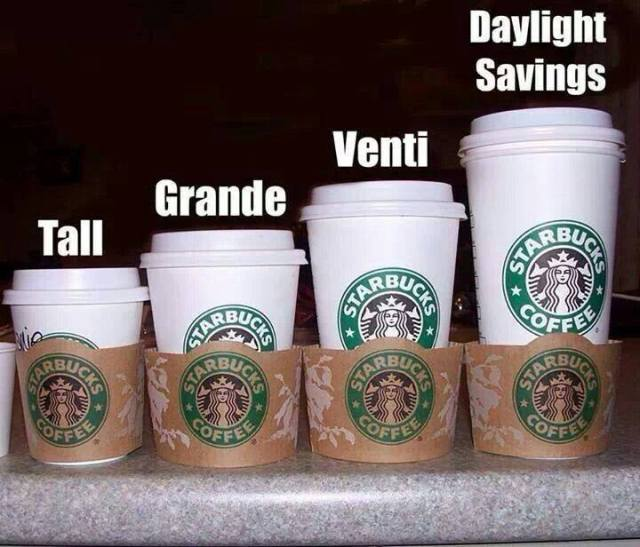 Coffee, Coffee, please, please, coffee.