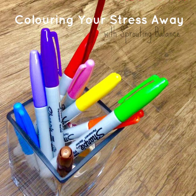 Colouring Your Stress Away