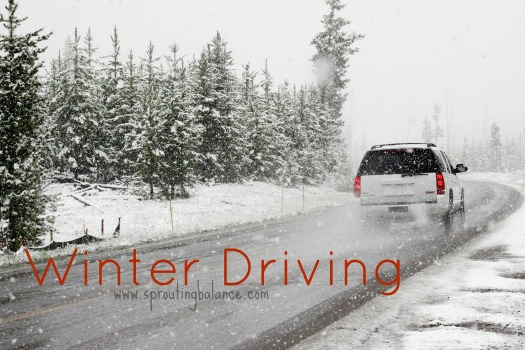 How do you prepare for Winter Driving in Ontario? | www.sproutingbalance.com | #winter #driving