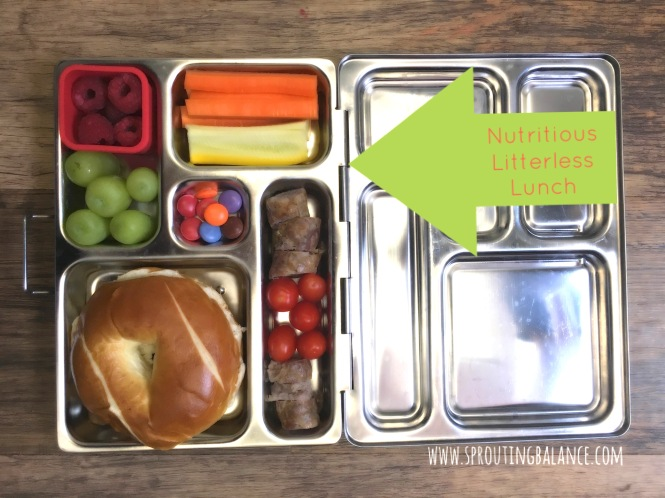 Nutritious Litterless Lunch | www.sproutingbalance.com | Planetbox - Healthy Lunch - Children