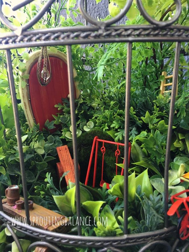 Fairy Garden | www.sproutingbalance.com | #fairy #garden #diy