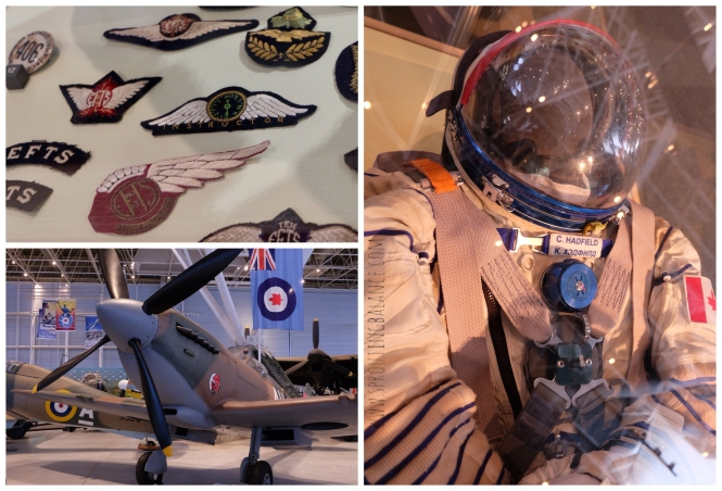 Every Summer has a Story: 2018 Ottawa - Museum of Aviation and Space | www.sproutingbalance.com | #Ottawa #Aviation #Space #Museum #trip