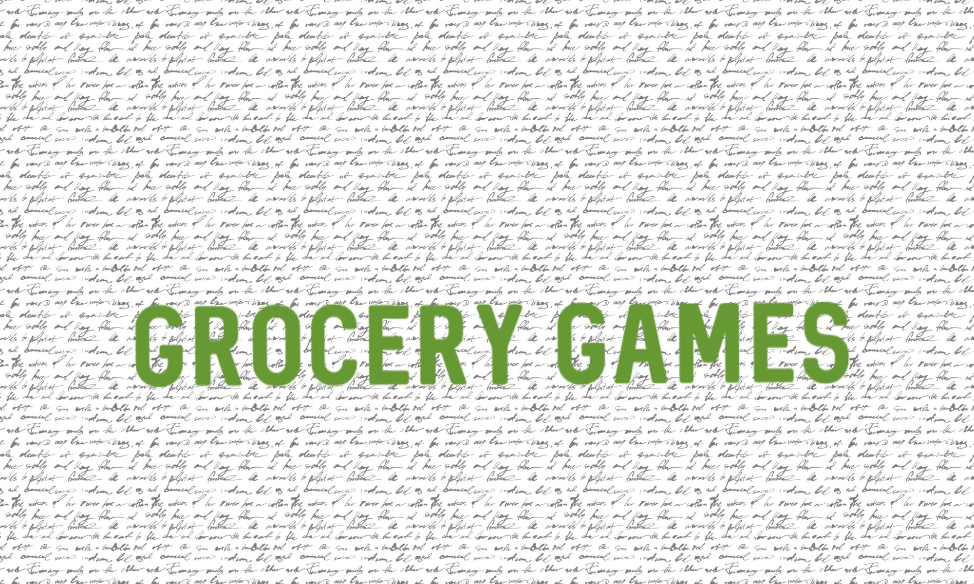 Grocery Games | www.sproutingbalance.com | Slashing the Grocery Bill